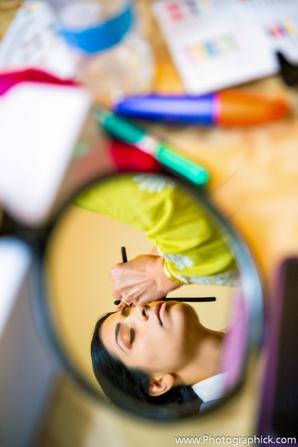 Indian-wedding-bride-makeup-preparation-for-ceremony