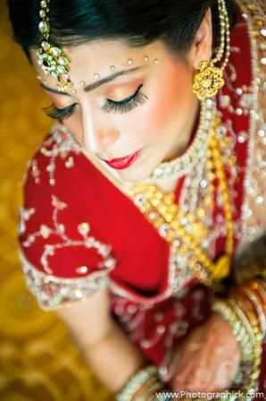 Indian-wedding-makeup-bridal-preparation-for-ceremony