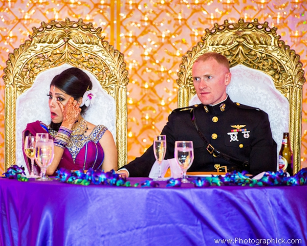Indian-wedding-reception-sweethearts-table