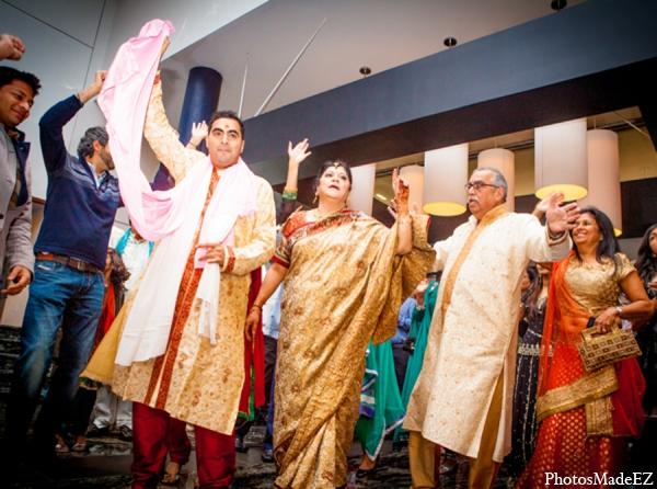 Indian wedding baraat groom