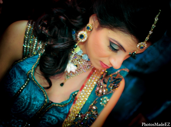 Indian wedding bridal jewelry hair accessories