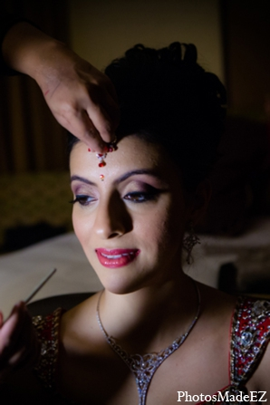 Indian wedding bridal makeup lips