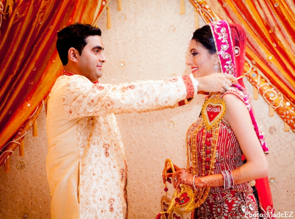 Indian wedding bride groom ceremony tradition