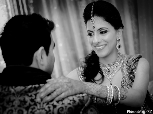 Indian wedding bride groom photo idea
