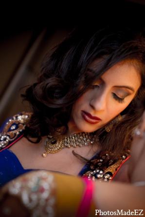 Indian wedding hair makeup reception