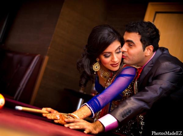 Indian wedding portrait idea