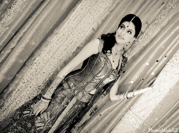 Indian wedding sangeet bridal fashion