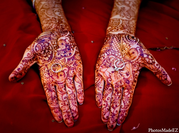 Indian wedding traditional mehndi