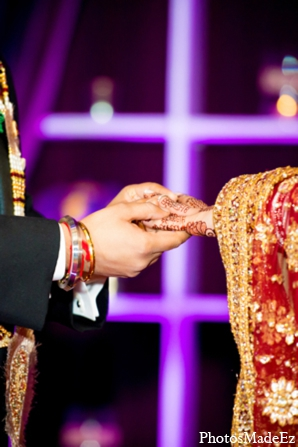 Indian wedding bride groom photo in Philadelphia, Pennsylvania Sikh Wedding by PhotosMadeEz