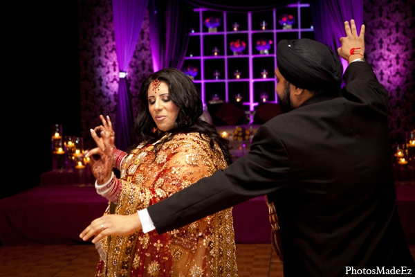 Indian wedding bride groom traditional in Philadelphia, Pennsylvania Sikh Wedding by PhotosMadeEz