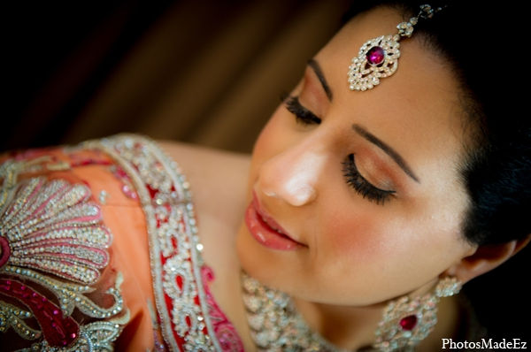 Indian wedding jewelry hair makeup bride in Philadelphia, Pennsylvania Sikh Wedding by PhotosMadeEz