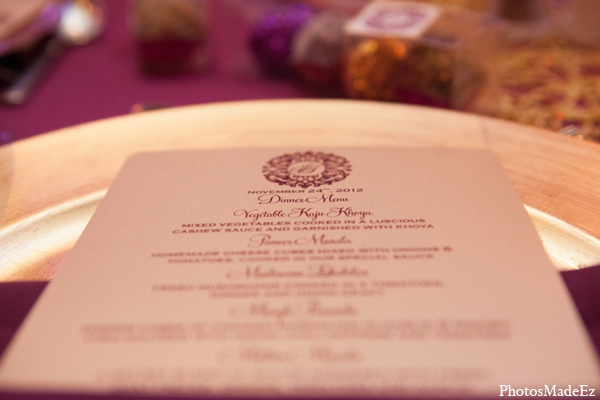 Indian wedding stationary decor in Philadelphia, Pennsylvania Sikh Wedding by PhotosMadeEz
