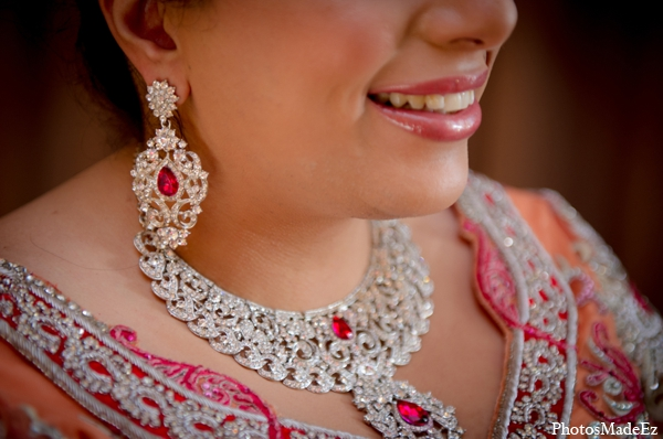 Indian wedding traditional bridal jewelry in Philadelphia, Pennsylvania Sikh Wedding by PhotosMadeEz