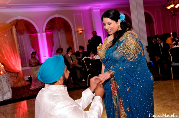 Indian wedding traditional outfits in Philadelphia, Pennsylvania Sikh Wedding by PhotosMadeEz