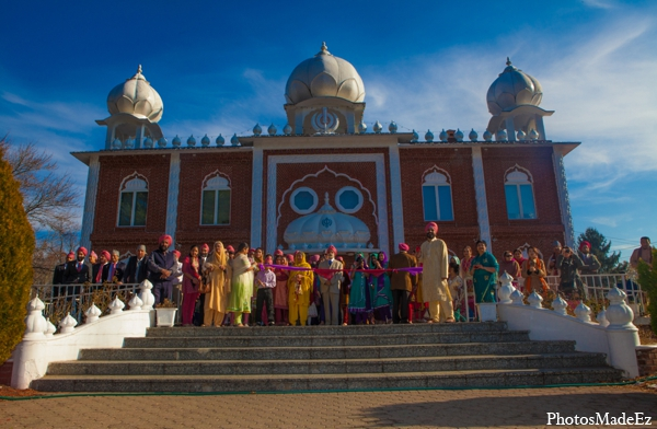 Indian wedding venues traditional in Philadelphia, Pennsylvania Sikh Wedding by PhotosMadeEz