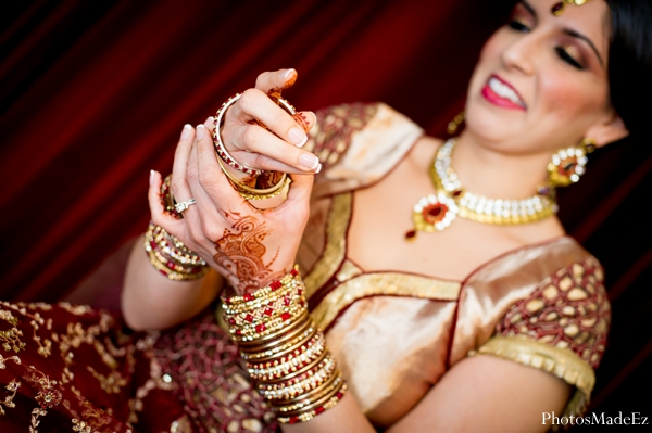 Indian wedding lengha bridal traditional inspiration in Eatontown, New Jersey Indian Wedding by PhotosMadeEz