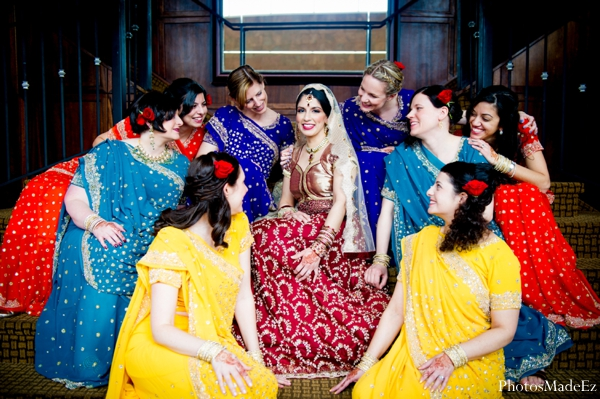 Indian wedding bridal fashion bridesmaids in Eatontown, New Jersey Indian Wedding by PhotosMadeEz