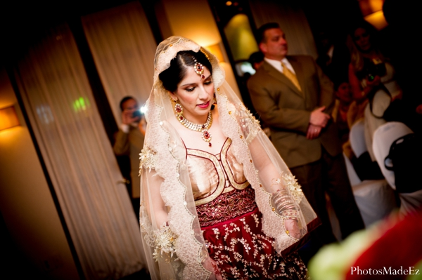 Indian wedding bride ceremony lengha in Eatontown, New Jersey Indian Wedding by PhotosMadeEz