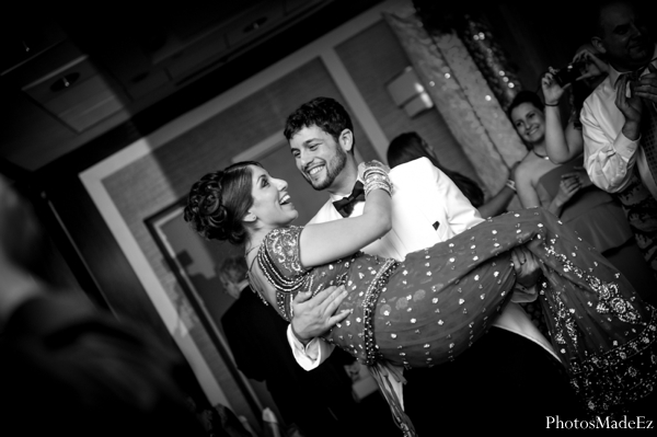 Indian wedding,indian wedding reception,black and white photography,bride and groom at wedding reception