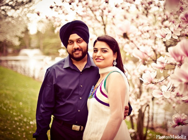 Indian-engagement-bride-wedding-groom in Sunday Sweetheart Winners ~ Pooja & Jassi by PhotosMadeEz