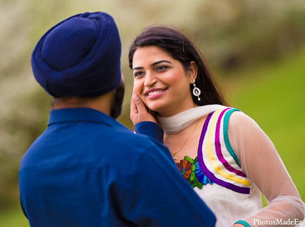 Indian engagement photographer wedding outdoors in Sunday Sweetheart Winners ~ Pooja & Jassi by PhotosMadeEz