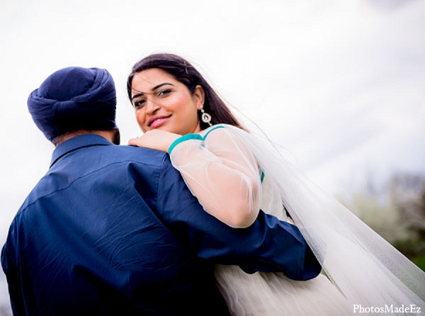 Indian wedding photos engagement groom bride in Sunday Sweetheart Winners ~ Pooja & Jassi by PhotosMadeEz