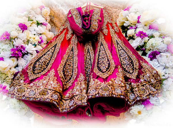 Indian wedding bridal fashions in Drexel Hill, PA Indian Wedding by PhotosMadeEz