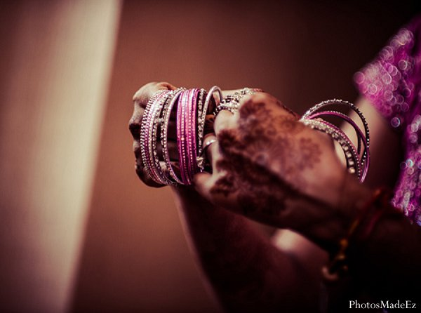 Indian wedding bride bridal jewels in Drexel Hill, PA Indian Wedding by PhotosMadeEz
