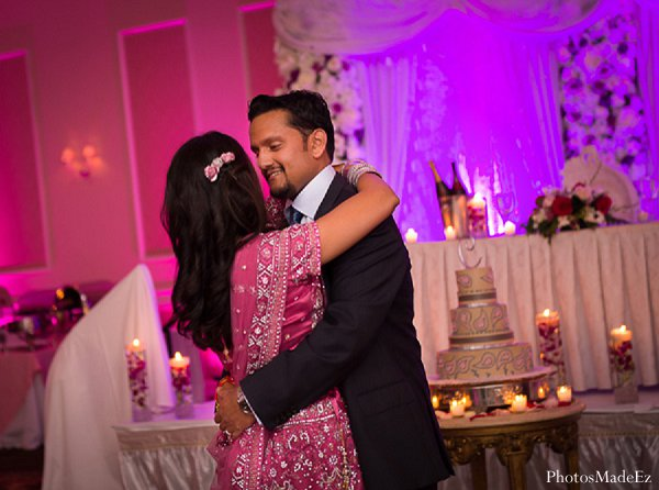 Indian wedding bride groom reception in Drexel Hill, PA Indian Wedding by PhotosMadeEz