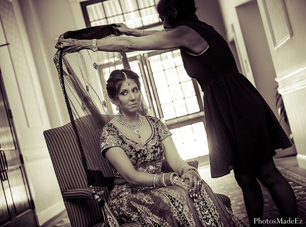 Indian wedding bride photography in Drexel Hill, PA Indian Wedding by PhotosMadeEz