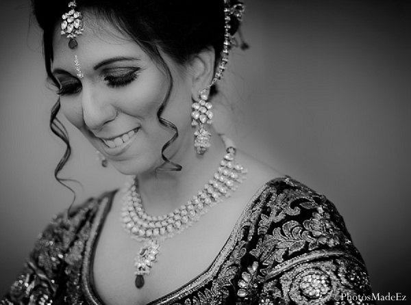 Indian wedding bride portraits in Drexel Hill, PA Indian Wedding by PhotosMadeEz