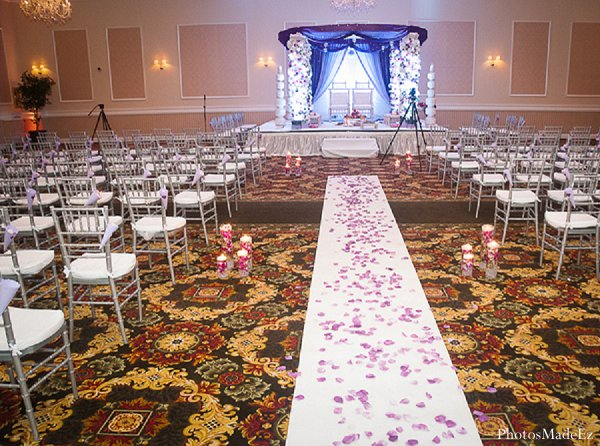 Indian wedding venue ceremony in Drexel Hill, PA Indian Wedding by PhotosMadeEz