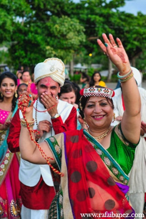 Indian wedding baraat in Hanover Parish, Jamaica Indian Wedding by Rafa Ibáñez Photography
