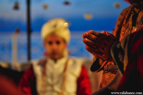 red,gold,cream,white,ceremony,traditional indian wedding,indian wedding traditions,Rafa Ibanez Photography