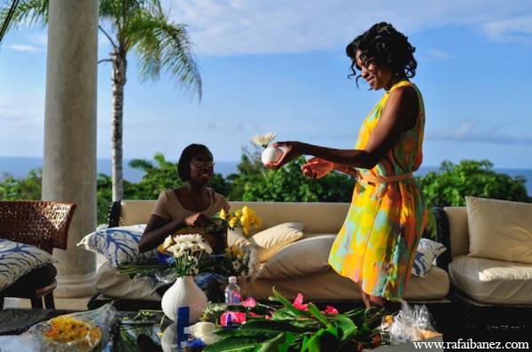 Indian wedding flowers in Hanover Parish, Jamaica Indian Wedding by Rafa Ibáñez Photography