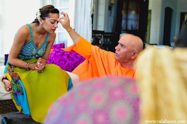 Indian wedding gaye holud in Hanover Parish, Jamaica Indian Wedding by Rafa Ibáñez Photography