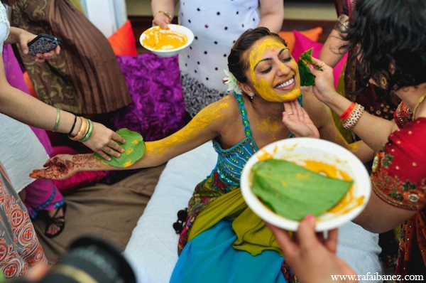 Indian Wedding Turmeric Ceremony In Hanover Parish Jamaica By Rafa Ibanez Photography