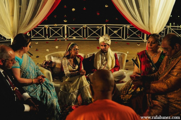 Outdoor indian wedding ceremony in Hanover Parish, Jamaica Indian Wedding by Rafa Ibáñez Photography