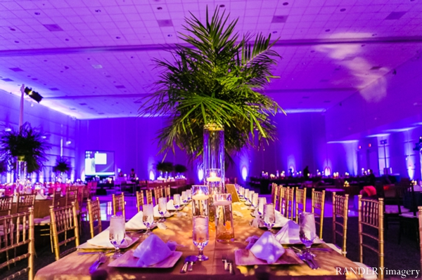 Indian wedding reception lighting decor floral venue in Ontario, California Indian Wedding by RANDERYimagery