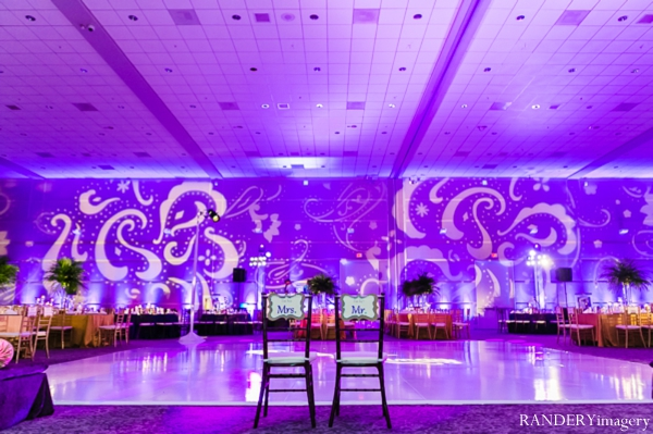 Indian wedding reception lighting venue in Ontario, California Indian Wedding by RANDERYimagery