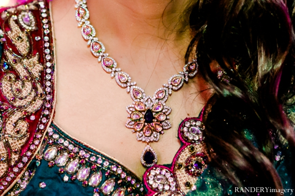 Indian wedding,teal,indian wedding bride,portrait of bridal jewelry,RANDERYimagery,bridal reception inspiration