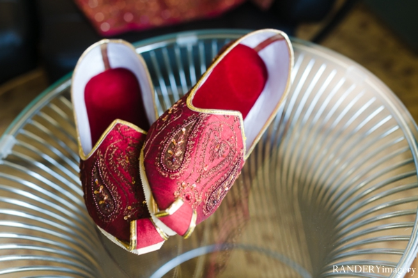 Indian wedding grooms fashion shoes in Ontario, California Indian Wedding by RANDERYimagery