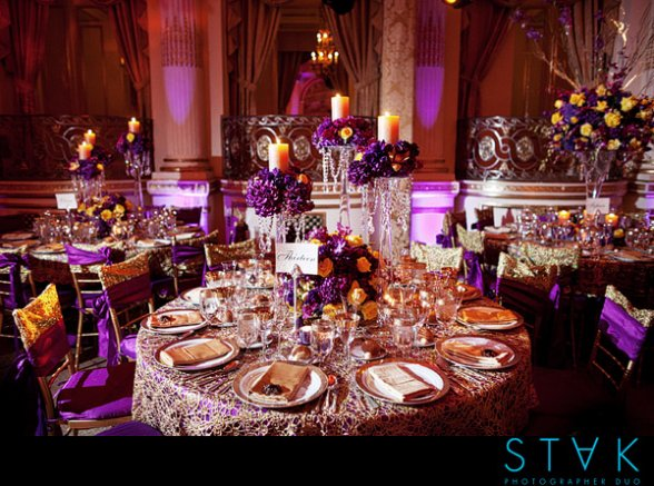 Purple and gold wedding decorations image collections wedding purple and gold wedding decorations choice image wedding junglespirit Choice Image