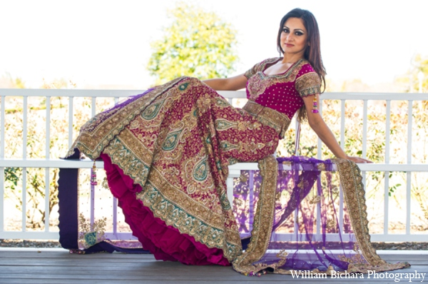 Indian wedding bridal clothing in Red Paisleys Bridal Fashions Inspiration