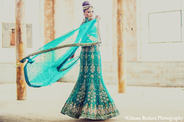 Beach Weddings,Indian Fusion Weddings,gold,teal,Destination Indian Weddings,bridal fashions,bridal jewelry,Hair & Makeup,lengha,bridal lengha,wedding lengha,lengha saree,Michael Bichara Photography