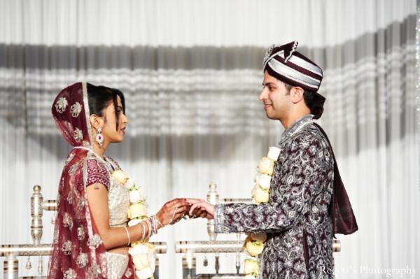 Indian wedding ceremony customs bride groom