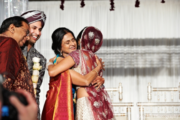 Indian wedding ceremony family bride groom parents