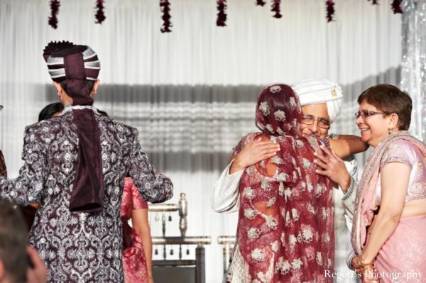 Indian wedding ceremony family bride groom