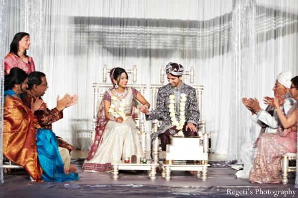 Indian wedding ceremony family customs bride groom