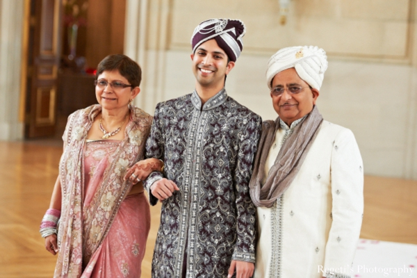 Indian groom and his father